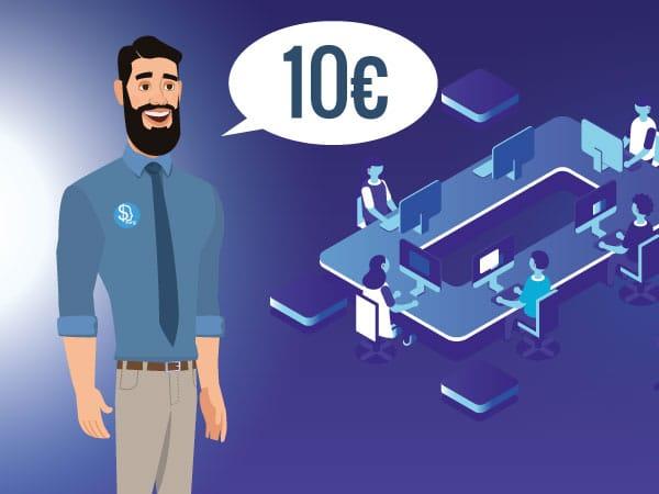 posso investire 10 euro in bitcoin