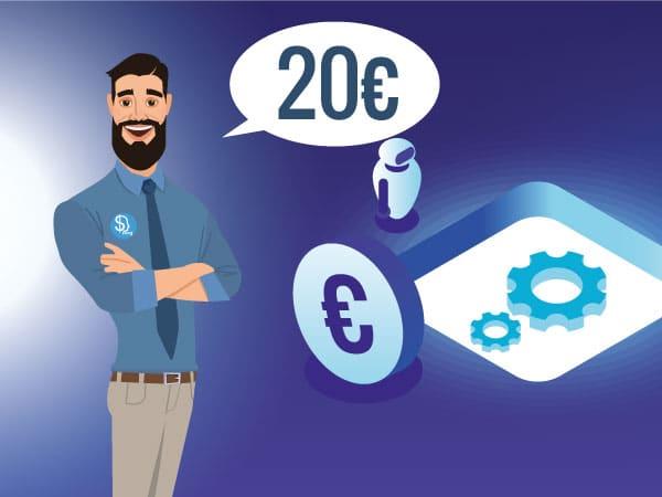 Investire in borsa 20 euro