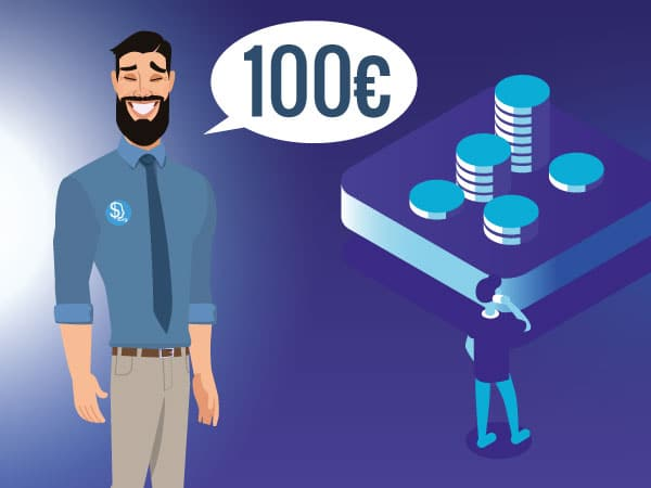 Investire in borsa 100€ IMG by ©Investireinborsa.org