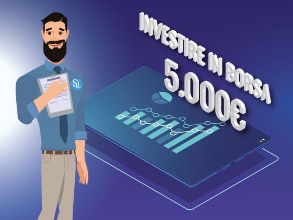 Guida come investire in borsa 5.000 euro - IMG by ©Investireinborsa.org