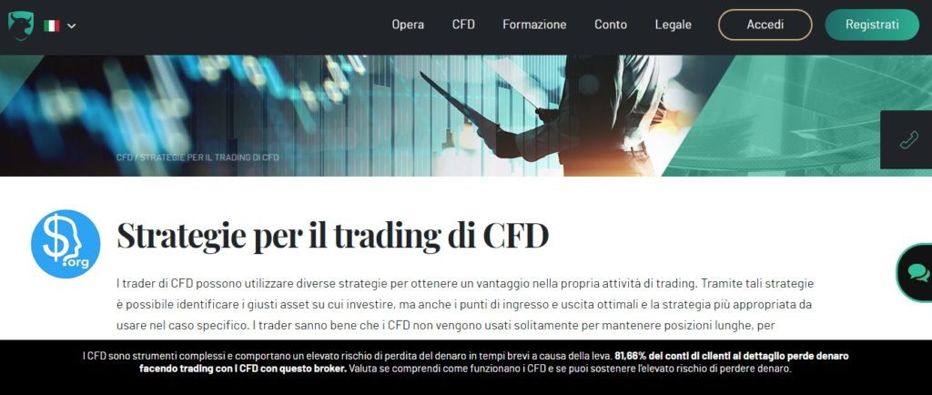 Strategie trading cfd con investous