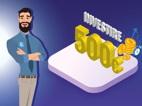 Investire 500 euro - IMG by ©Investireinborsa.org