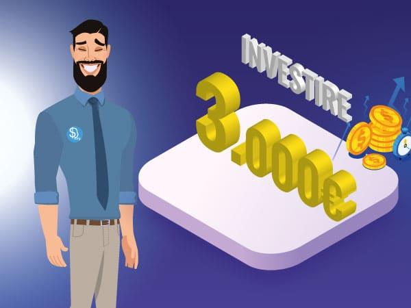 Investire 3.000 euro - IMG by ©Investireinborsa.org