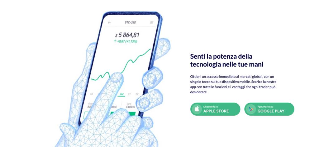 Roinvesting App mobile