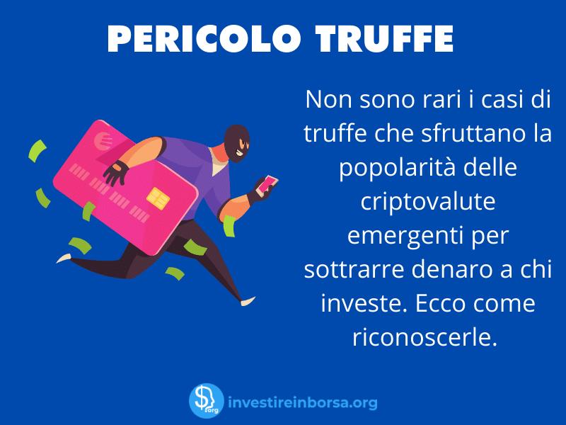 Rischio truffe - come difendersi - infografica di InvestireInBorsa.org
