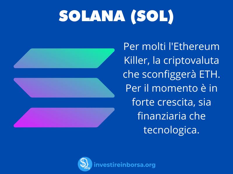 Scheda Riassuntiva Solana - a cura di InvestireInBorsa.org