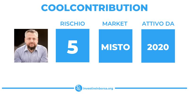 Coolcontribution - scheda riassuntiva di InvestireInBorsa.org