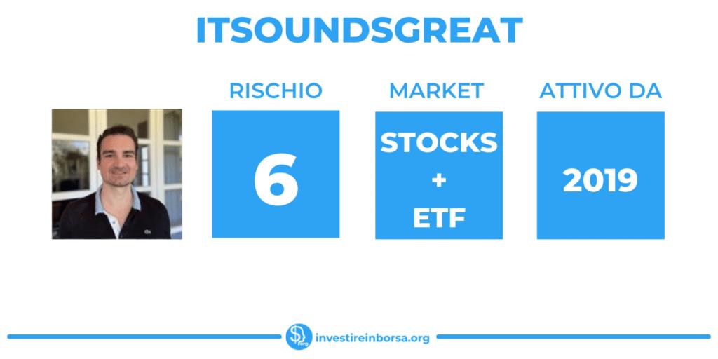 ItSoundsGreat scheda riassuntiva di InvestireInBorsa.org